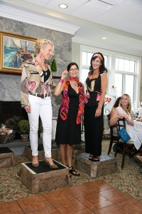 Peggy Russell Iro Designs with Susan Boles and Laurie  Fleming