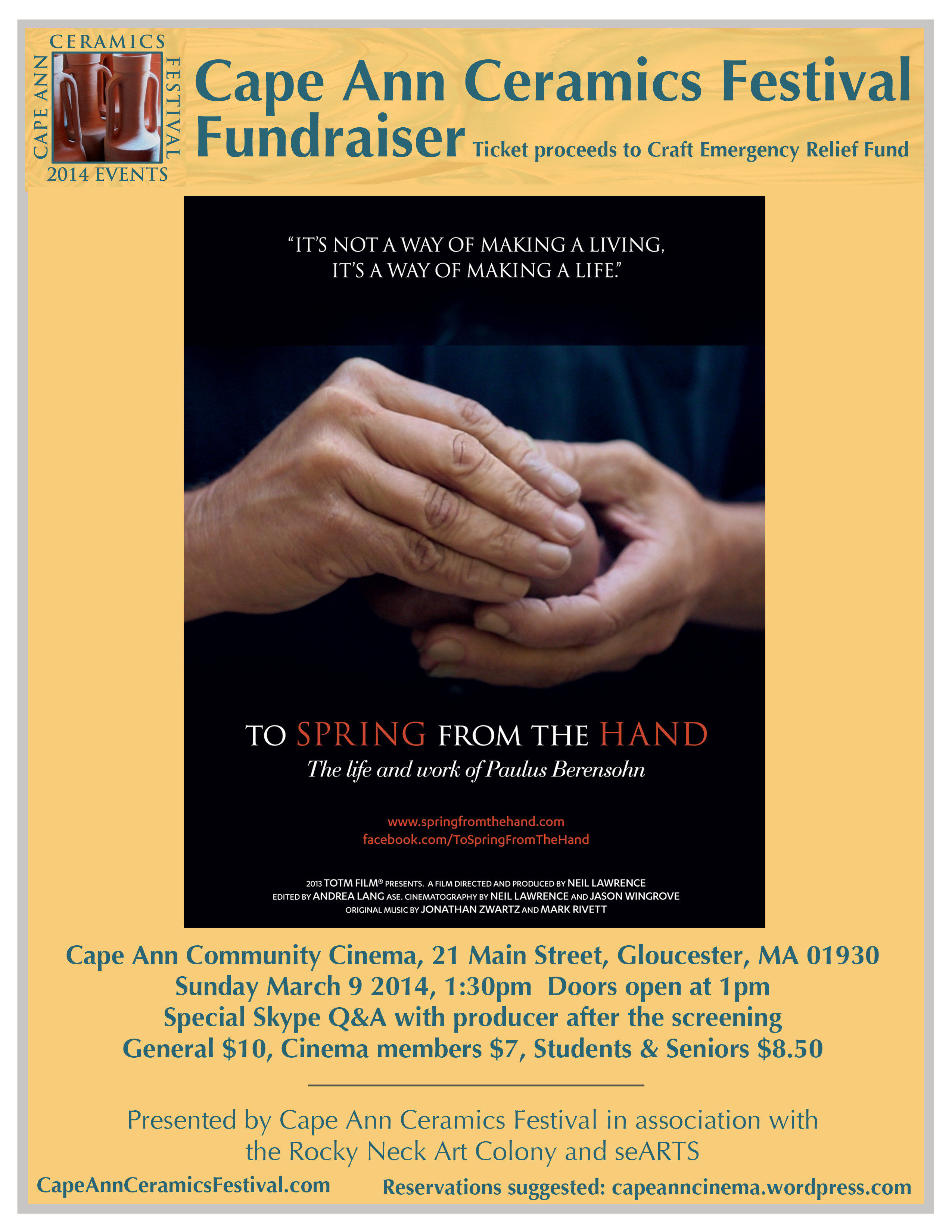 Click for more info on this special film event.