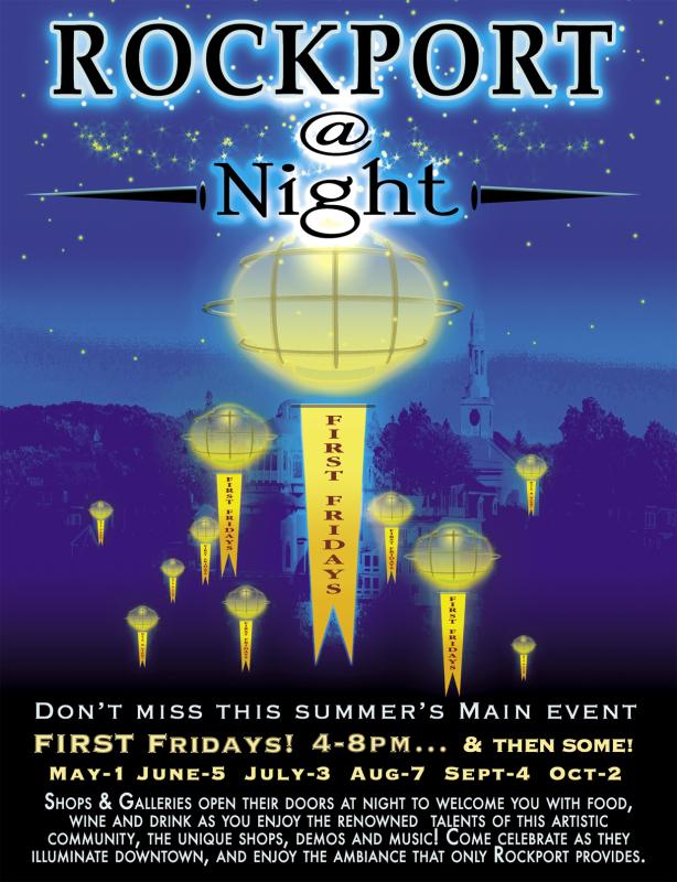 Rockport At Night poster Press-PR 2015